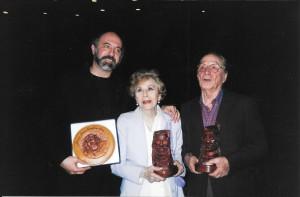 Con Aida y Jorge Luz