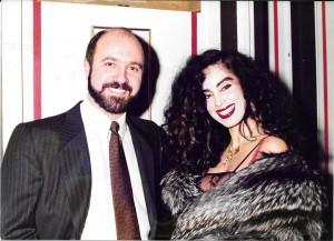 Con Beatriz Salomón