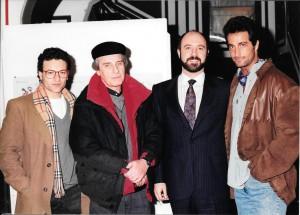 Con Daniel Migliolanza Santiago bal y Osvaldo Sabatini