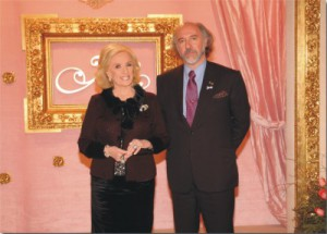Con Mirtha Legrand