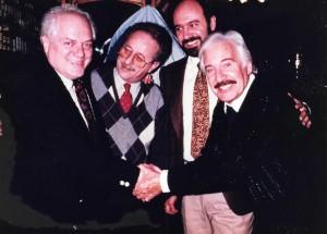 Con Pepe Parada Hugo Sofovich Roberto Galan