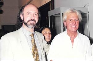 Con Sergio Denis
