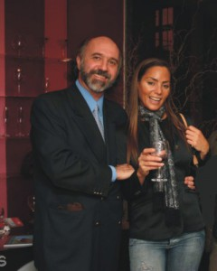 Junto a Natalia Fassi