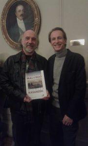Junto a Nicolas Casanseu